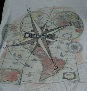 SUN COLOR CHANGING T-shirt Mens XL Del Sol San Diego