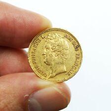 20 Francs or Louis Philippe Ier tête nue 1831 A tranche en relief RARE
