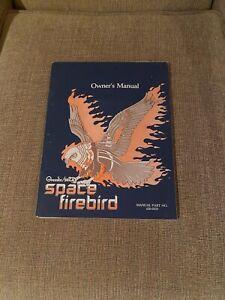 Gremlin/Sega Space Firebird Video Arcade Game Owner's Manual, 1980