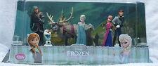 Orignal Disney Frozen Figurine Set - Elsa Anna Olaf Hans Kristoff & Sven figures