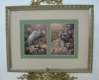 SOUTHERN SPRING I & II by R. C. Davis MINI FRAMED