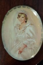Princess Diana The Peoples Princess Numbered Collector Plate Lady Diane