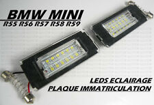 LED SMD ECLAIRAGE BLANC PLAQUE IMMATRICULATION BMW MINI ONE COOPER S R56 2006-10