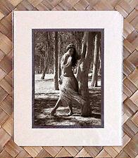 "Kim Taylor Reece ""Pili La'au"" 8 X 10 Double Matted Hawaiian Hula Print - New"