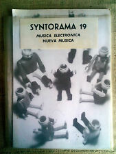 SYNTORAMA 19 Musica elettronica Art Zoyd, Stockhausen, Phil Glass, Jorge Reyes