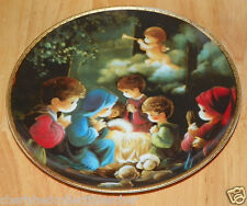 Collector Plate Come Let Us Adore Him Series Precious Moments Bible Story
