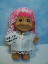"FIRST COMMUNION GIRL - 5"" Russ Troll Doll - NEW IN ORIGINAL WRAPPER"