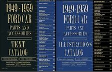 Ford Car Illustrated Parts Book 1959 1958 1957 1956 1955 1954 1953 Part Catalog