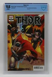 Thor (2020) #11 Nic Klein Retailer Incentive CBCS 9.8 Blue Label White Pages