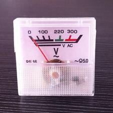 220V Analog Panel Meter AC 0-300V voltmeter Voltage Guage 1pcs