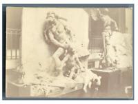 France, Paris, Exposition Universelle de 1900 Vintage citrate print Tirage cit