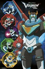 Voltron Defenders Of The Universe Tv show reproduction movie poster 22x34 new