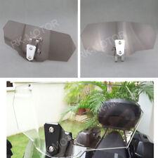 Smoke Clip On High Deflector Windshield High Windscreen For YAMAHA TMD900 TDM850