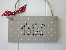 Shabby Chic Toilet Decorative Indoor Signs/Plaques
