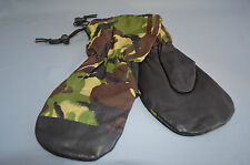 British Army Woodland DPM Cold Weather Inner Mittens - Size Medium  A1 condition