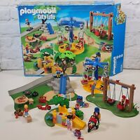 Playmobil City Life Children's Playground Set 5024 Park Play Area Swings Slide