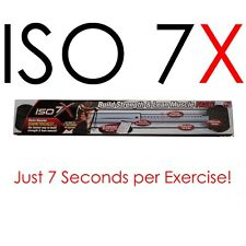 ISO 7X - Deluxe Edition - 7 Second Workout Revolution Isometric Exercise  Health
