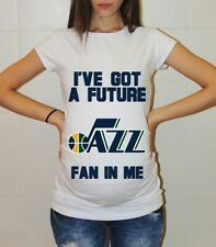 Utah Jazz Baby Utah Jazz Maternity Shirt Baby Shower Pregnancy Reveal Baby