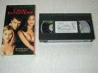 CRUEL INTENTIONS SARAH MICHELLE GELLAR, RYAN PHILLIPPE 1999 VHS RARE HTF OOP