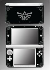 Legend of Zelda Grey Black Special Edition Game Decal Skin for Nintendo 3DS XL