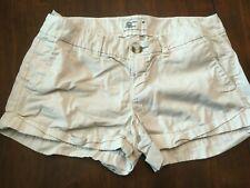 Womens/JR American Eagle Light Khaki Short Shorts Size 0