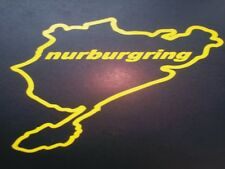 SUBARU IMPREZA NURBURGRING STICKER IN WHITE all colours available on request