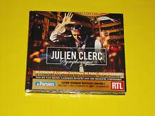 """CD EDTION LIMITEE JULIEN CLERC  """"SYMPHONIQUE"""" 2 CD + TOUT LE CONCERT EN DVD +"""
