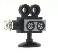 LEGO Black Cine Camera with Film for Minifigs