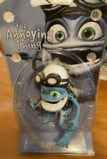 """Crazy Frog The Annoying Thing - Figure Keyring Brand New VGC Extremely Rare 3.5"""""""