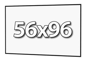 DA-LITE 90803 - FAST-FOLD DELUXE 56x96 REPLACEMENT SURFACE - DA-TEX REAR PROJ