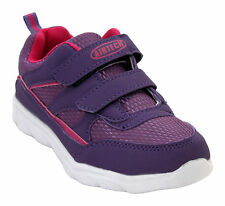 KIDS BOYS GIRLS YOUTH UNISEX SUPERLIGHT CASUAL TOUCH STRAP SPORTS TRAINERS SHOES