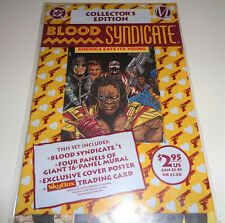 BLOOD SYNDICATE COLLECTOR'S EDITION #1 (1993) Vintage! New in Bag!