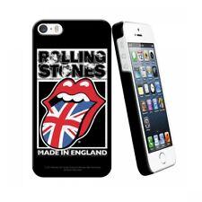 COQUE iPHONE 4 4S THE ROLLING STONES ENGLAND BLACK SILICONE RIGIDE (TPU)