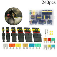 Electrical Wire Connector Plug 1-6 Pin Way Cutter Fuse Waterproof Replacement