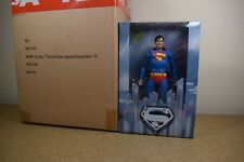 "GENUINE Neca 7"" SUPERMAN Reeve 1978 Movie Action Figure + FREE PENNANT & SCALER"