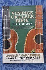 Vintage Ukulele Book Martin Kamaka Kumalae Nunes Gibson Santo Hawaii (Japanese)