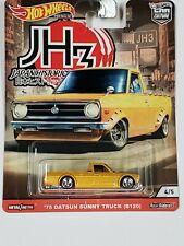 Hot Wheels Premium Car Culture Japan Historics-3 Jh3 '75 Datsun Sunny Truck B120