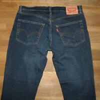 "elastische LEVI`S 511 Herren- JEANS / LEVIS Blue- Jeans in blau ca. W35"" /L32"""
