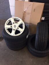 """16""""fox viper Ford Transit Alloy Wheels-Commercial Van MK6 /MK7/MK8-st with tyres"""