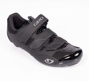 Giro Techne Road Racing Cycling Shoes Size EU 44 US 10.5 UK 9.5 Black New