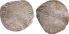 Lorraine, Charles III, sol carolus, Nancy, argent, flan voilé - 27