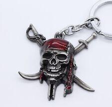 Keychain / Porte-clés - Pirate Des Caraibes - Silver