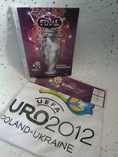 EURO 2012 POLAND UKRAINE FINAL PROGRAM AND T SHIRT SIZE L