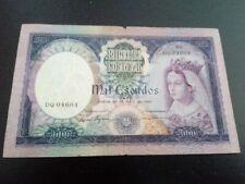 PORTUGAL 1000$ Escudo 1961 P-166 Banknote