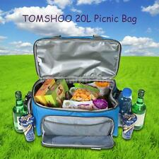 Thermal Insulated Cooler Lunch Food Box Handbag Picnic Storage Bag 20L HM W7Y4