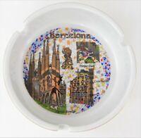 Barcelona Ceramic Ashtray Mosaic Design Sagrada Familia Casa Batllo Parque Guell