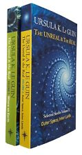 Ursula Le Guin 2 Books The Unreal & The Real Science Fiction Short Stories New