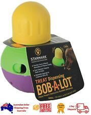 StarMark Bob-A-Lot Interactive Pet Toy - Treat Dispensing -Slow Down Eating