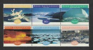 1997 Ross Dependency Ice SG 54/9 MUH Block Set 6