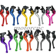 CNC Adjustable Brake Clutch Levers For Suzuki GS500 F K4 K5 K6 K7 K8 K9 2003-09